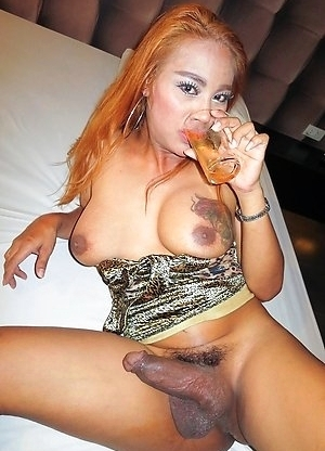 Ladyboy Jasmine - Strawberry Blonde Bareback