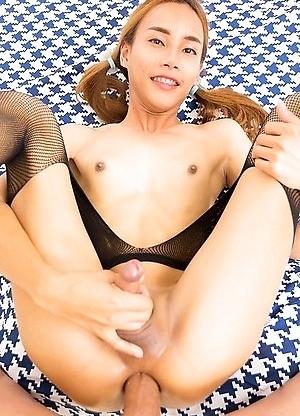 Ladyboy Pink - Sprung Femboy Schoolgirl