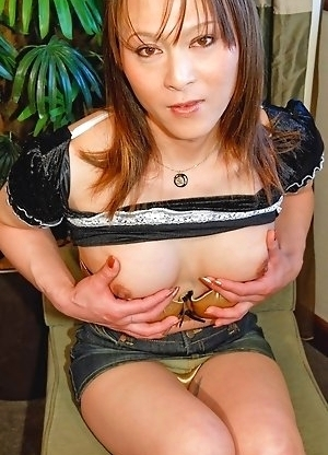 You'll want to grab porn star Natsuki ass. She likes to seduce young men at her office and wants to try two at the same time!