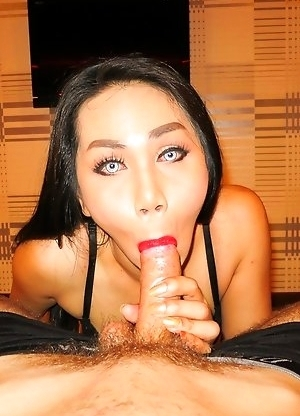 Ladyboy Judy - Huge Load and Bareback Facial