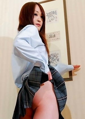 Japan Newhalf Emi newbie who is hot and horny!