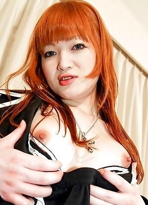 Maria is as cute as a Japanese Ningyo Doll � only that she is equipped with big breasts and a nice cock.