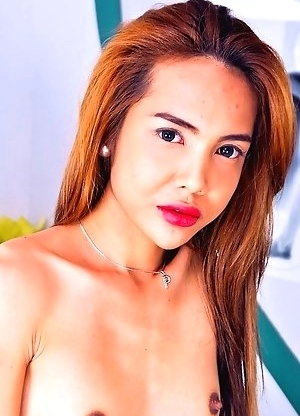 Julia Shiroya hails from the big city of Manila. Long one of our most popular models, all-natural ladyboy Julia Shiroya is back in this short but very
