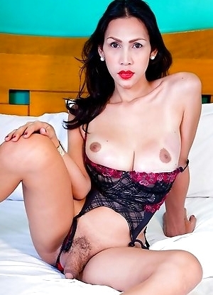We first introduced Tyra as a very sexy young ladyboy with a big cock who loves sex and romance back in 2008.