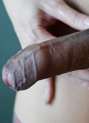 25yo sexy Thai ladyboy Peach blows white guy and masturbates