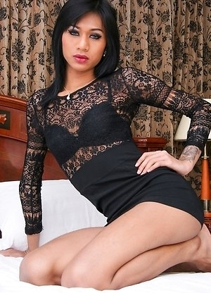 Milk is a mouth watering honey from the 69 bar, an all natural girl with a massive Thai rod and an explosive money shot.