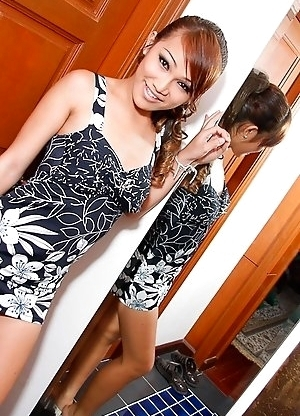 Rough and wild assfuck for pretty Ladyboy fuckdoll Bambi
