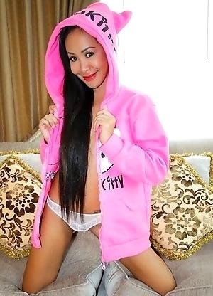 Quiz Kitty hoodie bareback cim