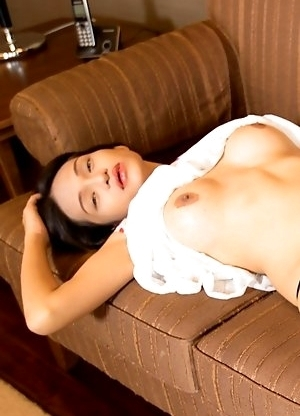 Bai Thong is an object of desire as she masturbates with her panties down in a girlfriend dress!