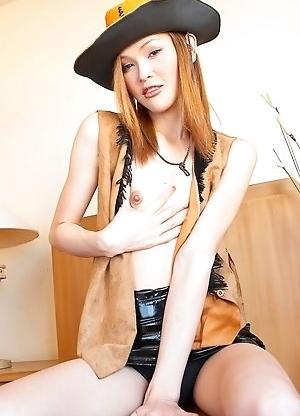 redhead Asian shemale Ciara