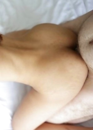 Big-boobed Asian Ladyboy Phone takes hard ass reaming and dribbles cum