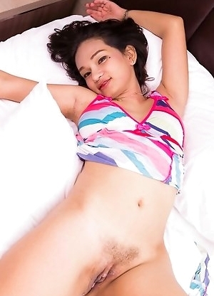 Bai Thong shows up horny wearing a sexy girlfriend dress in these all original LadyboyPussy series.