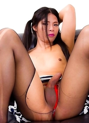 Mon is a shy young new girl we are pleased to feature. She's just 21 but knows how to show off her small tits, perfect booty, and a hard uncut co