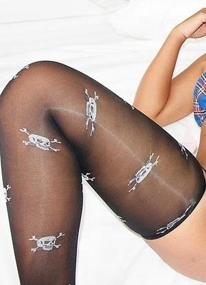 Natty Plaid Bikini Bareback