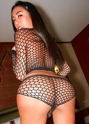 Mos Black Netted Two Piece Bareback