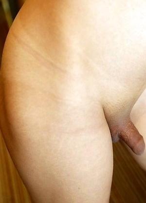 19yo Thai ladyboy Sunfos gets a facial from a big white cock after sucking his cock